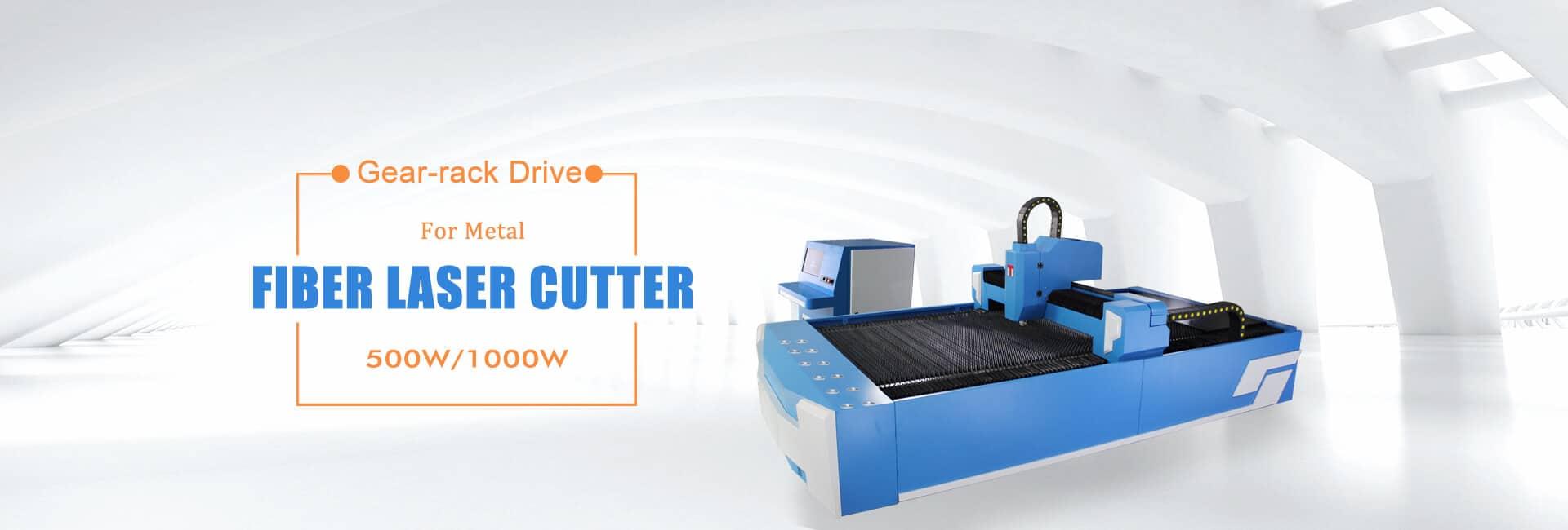 1000W fiber laser cutter