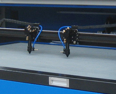 1390D double laser cutter