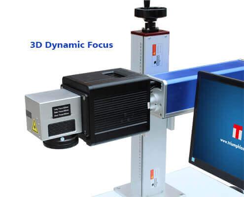 3D dynamic focus