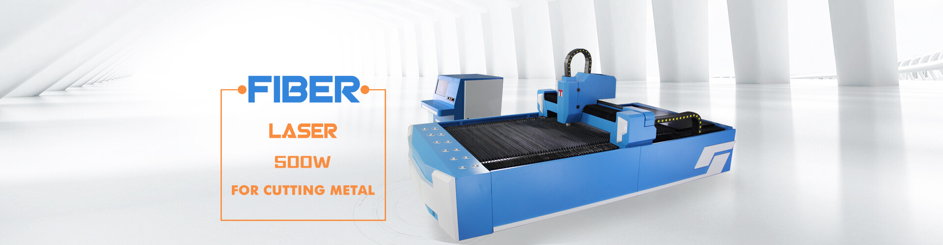 500W fiber laser cutter