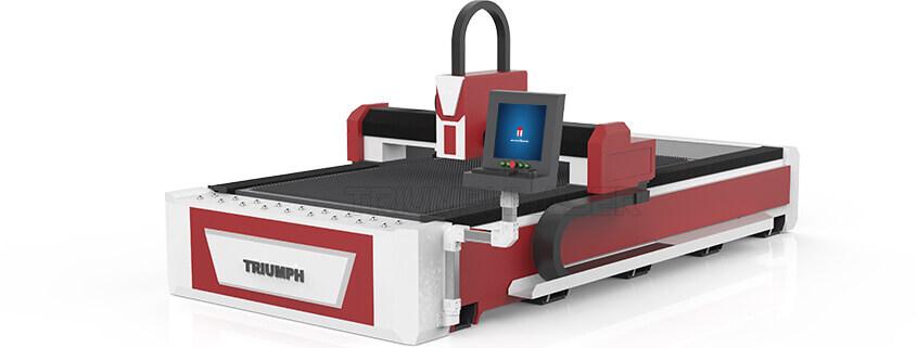 Double servo driver fiber laser cutting machine