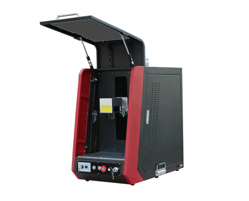 Enclosed type fiber laser marking machine 2