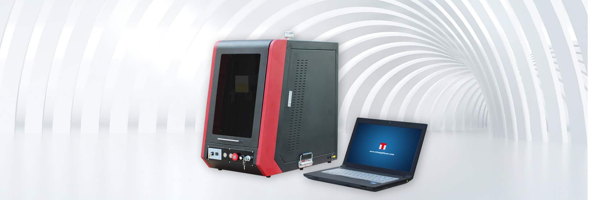 Enclosed type fiber laser marking machine 4