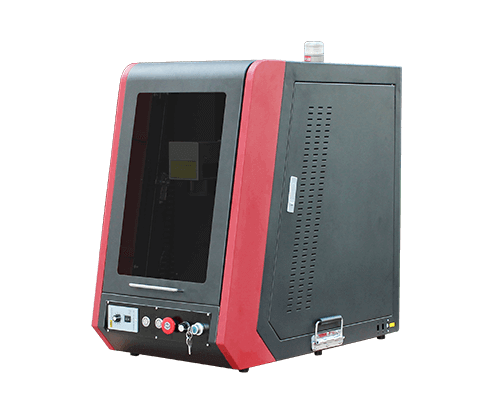 Enclosed type fiber laser marking machine