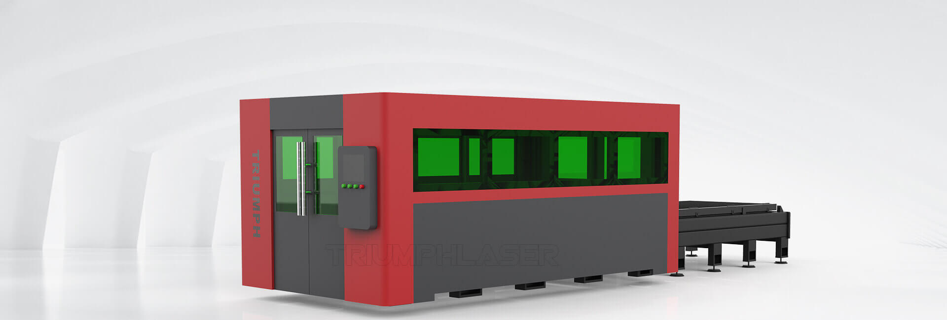 Encolesd fiber laser cutting machine