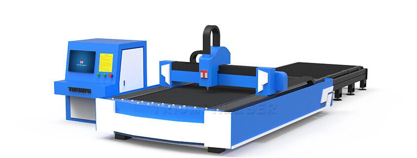 Exchange working table fiber laser cutting machine