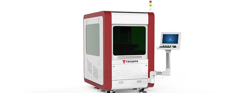 High precision fiber laser cutting maching