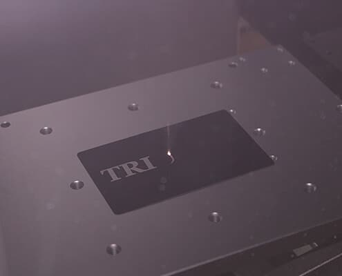 High speed laser marking