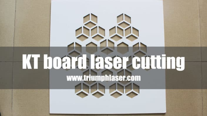 KT board laser cutting