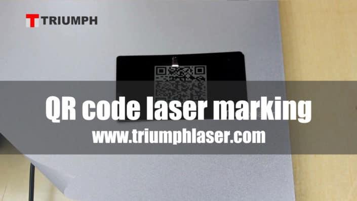 QR code fiber aser marking machine