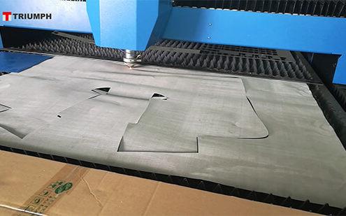 Stainless Steel Wire Mesh Fiber Laser Cutting Machine