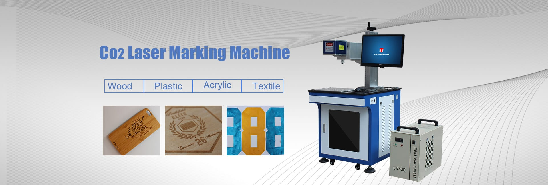 co2 laser marking machine 50W