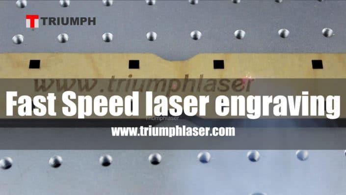 fast peed co2 laser marking machine