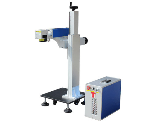 Fission combination fiber laser marking machine f20
