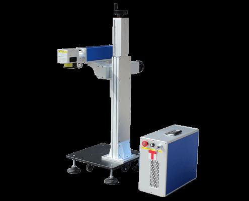 Fission combination fiber laser marking machine f20
