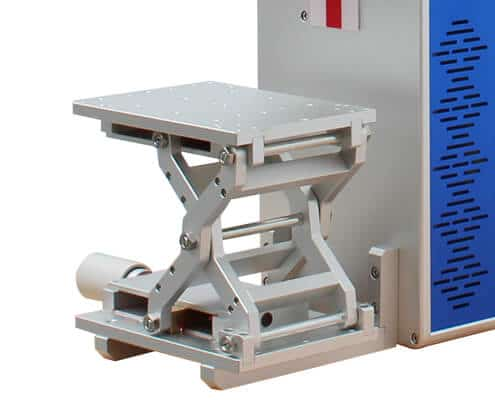 laser marking machine work table