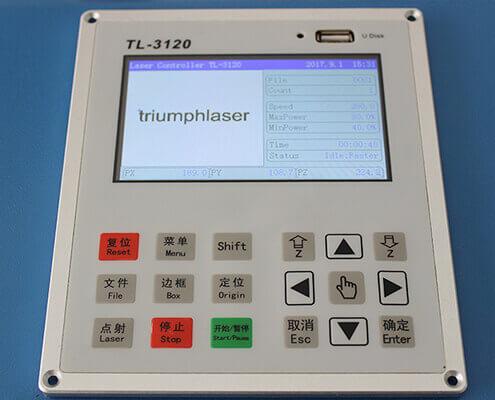 lasercad control panel