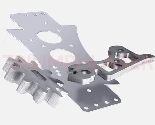 machine parts laser cut
