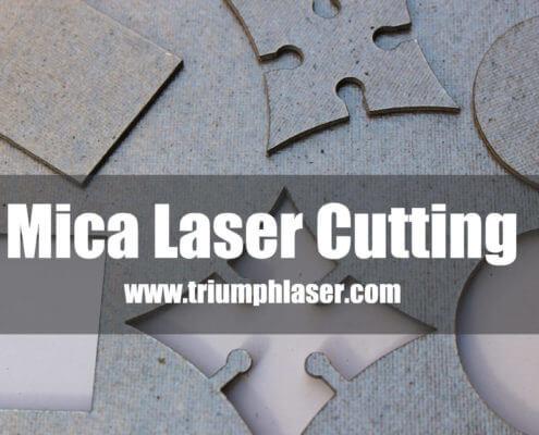 mica laser cutting machine