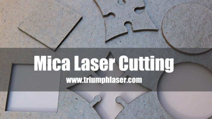 mica laser cutting machine