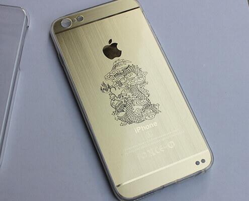 phone case laser marking