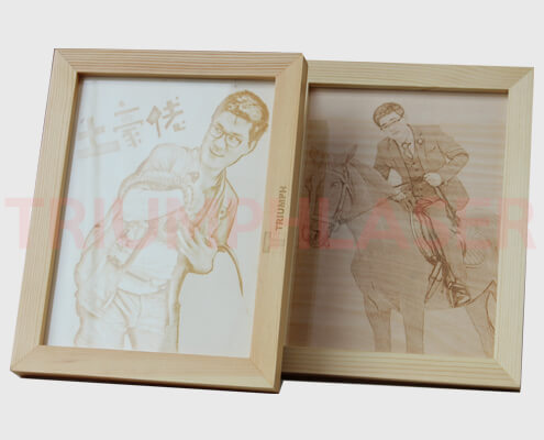 photograph laser engraving