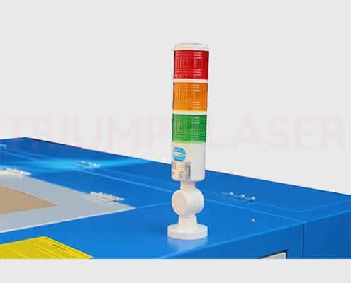 three color alarm lamp device