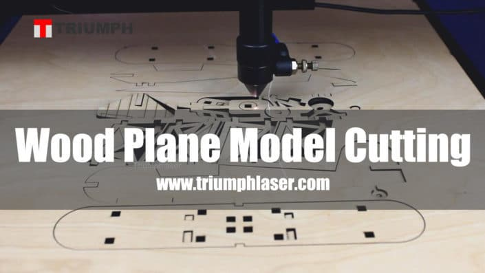 wood 3D plane cutting with laser machine