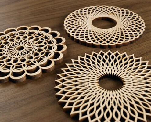 wood laser cutting design
